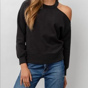 Rails Quincy Black Sweatshirt NWOT